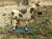 """""""PATTERN"""" $15.00 plus $3.00 Shipping. Meet Pearly Moo she is 14"""" tall and 11"""" long. Easy to follow instructions."""