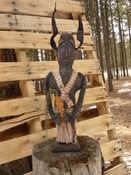 """SOLD 17"""" tall 4"""" base...please email for more pictures and information."""