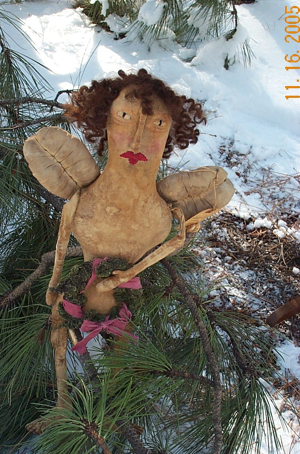 ~PATTERN~ Naked Angel $15.00 PLUS $3.00 SHIPPING.