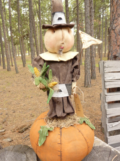 """AVAILABLE; 125.00 plus shipping.  Large and heavy 24"""" tall  35"""" around pumpkin. Please email for other information regarding designer of pattern or other information."""